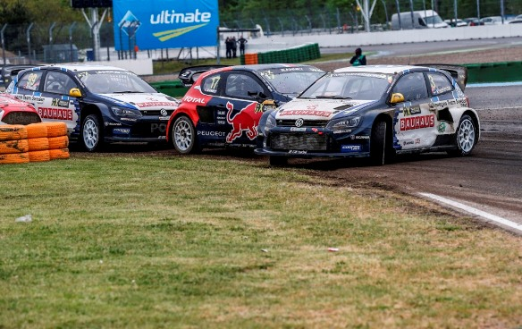 Punctures for both Drivers at Hockenheim Day 1
