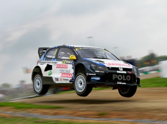 Kristoffersson holds 6:th position after day 1