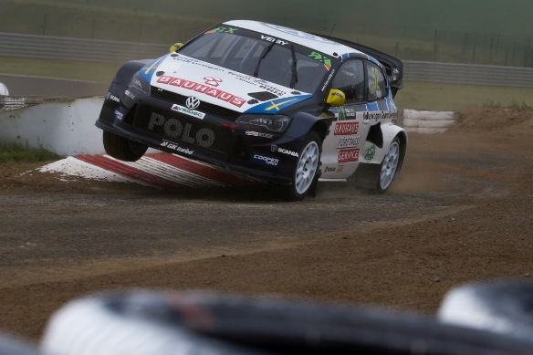 Kristoffersson still holds second, missed the Final after Puncture