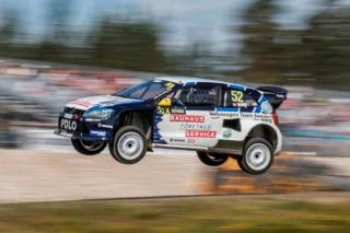 Veiby impressed, Kristoffersson holding second position
